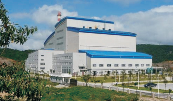 Kaili City, Guizhou Province, garbage burning power generation project