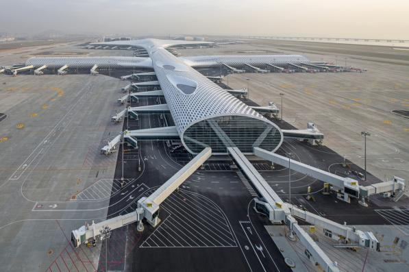 Kiloamp Technology's technical lightning protection products applied to Shenzhen Airport lighting system