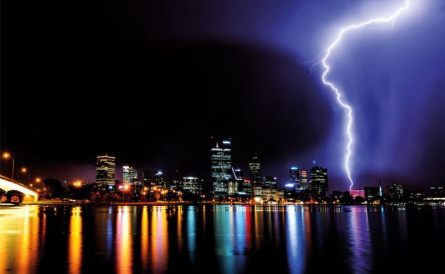 Outline how to improve the lightning warning of lightning arresters